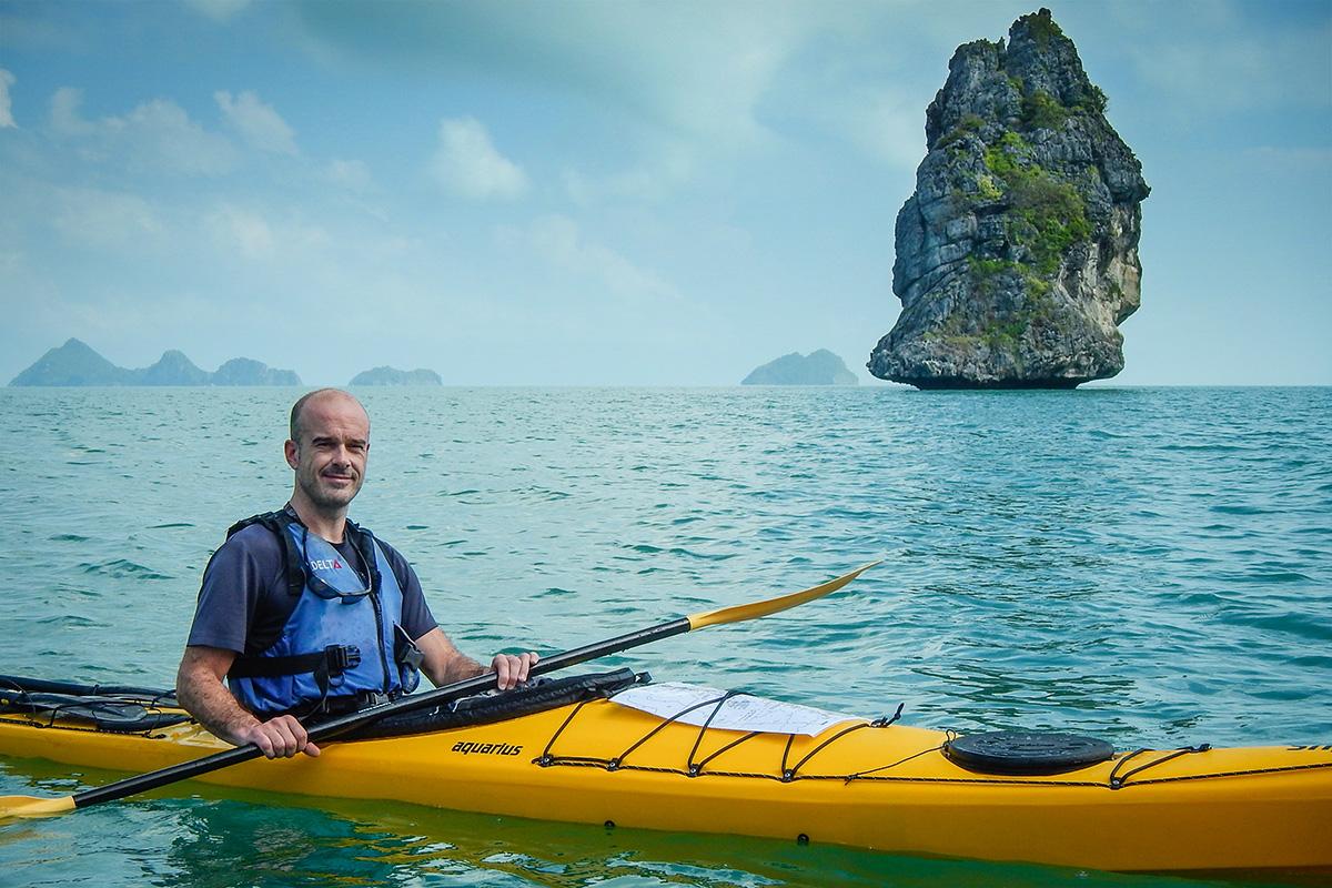 Pierre votre guide kayak aventure