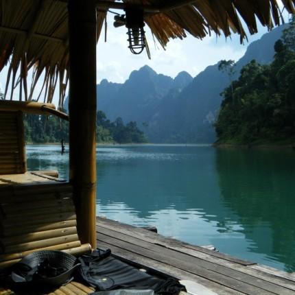 Bungalow à Khao Sok en Thaïlande
