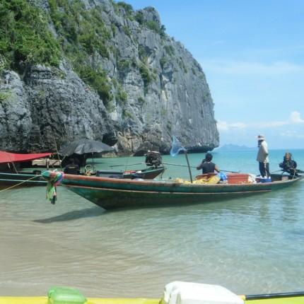Spectacle de pêche en Thaïlande