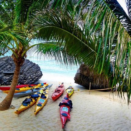 Angthong marin parc, kayak in Thailand