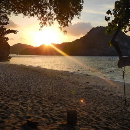 Parc marin d'Angthong, île de Koh Samsao
