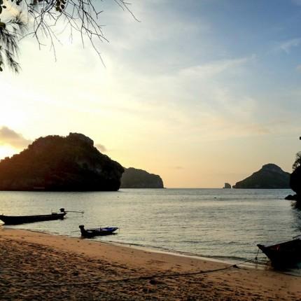 Parc marin d'Angthong, ile de Koh Samsao, Thailande