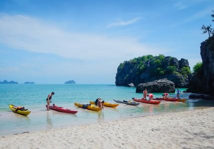 Plage de l'île Koh PhaluaïThaïlande
